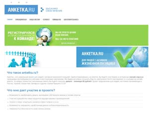 Заполнение анкет за деньги в интернете